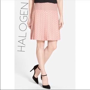 ✴️3/$50 Halogen Nordstrom pink  pleated skirt 6 M
